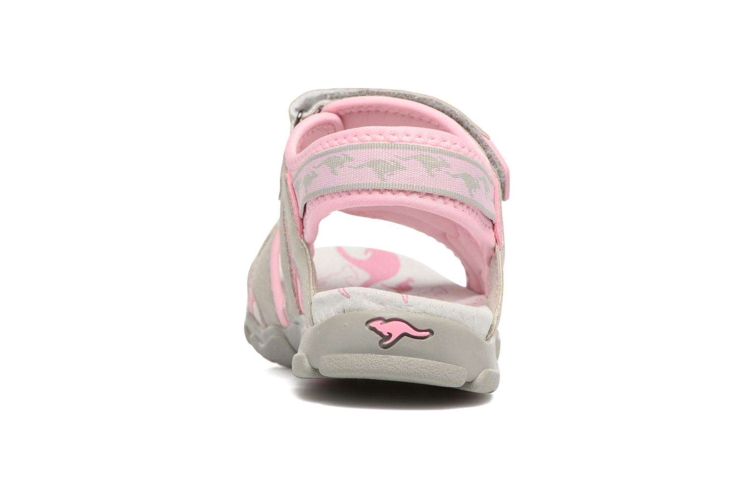 Sandals Kangaroos Corgi 2 Pink view from the right