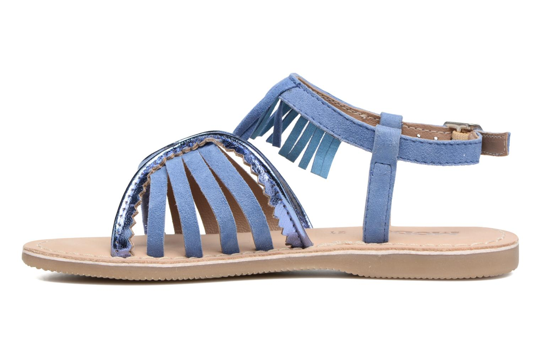 Sandales et nu-pieds Mod8 Sumy Bleu vue face