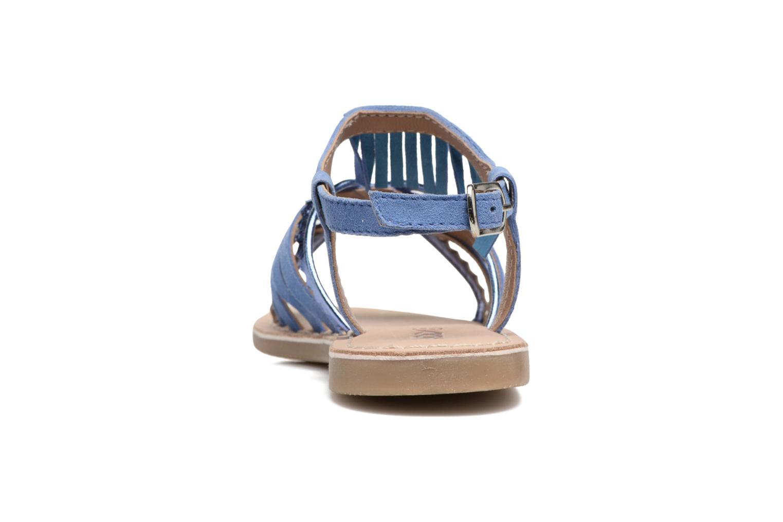 Sandales et nu-pieds Mod8 Sumy Bleu vue droite