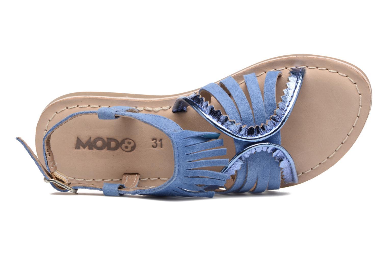 Sandales et nu-pieds Mod8 Sumy Bleu vue gauche