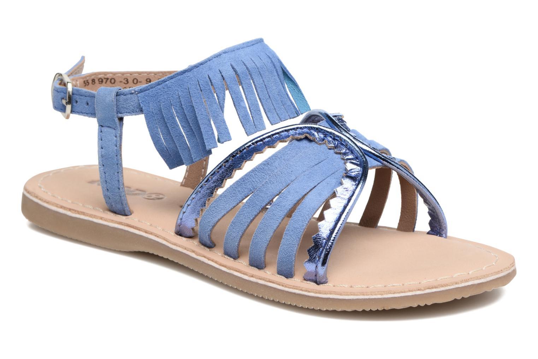Sandales et nu-pieds Mod8 Sumy Bleu vue détail/paire