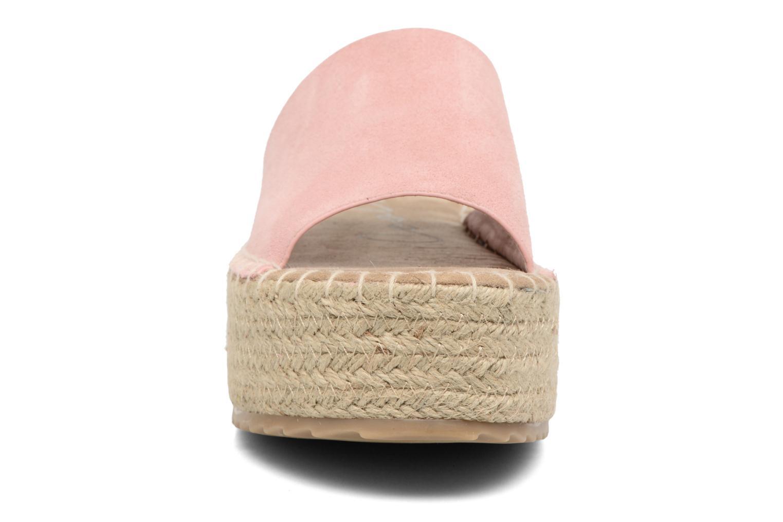 Espadrilles Coolway Bora Rose vue portées chaussures