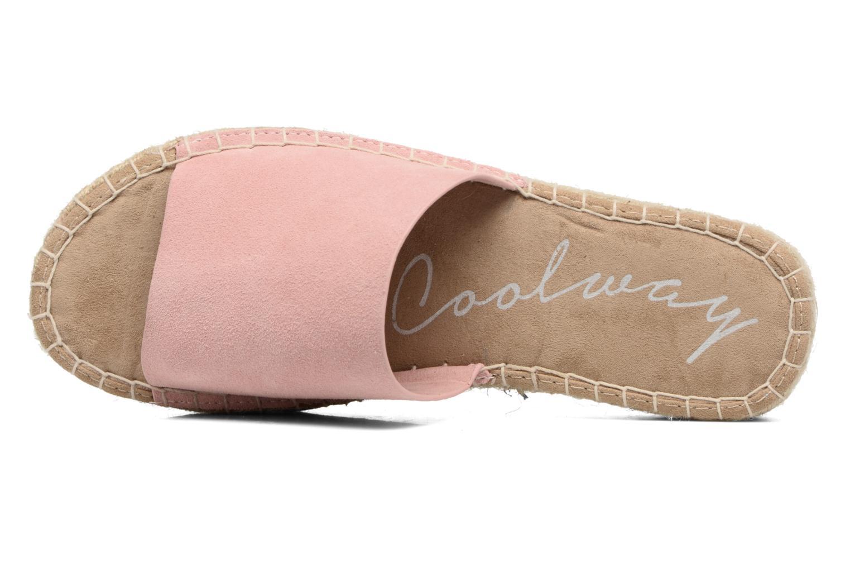 Scarpe di corda Coolway Bora Rosa immagine sinistra