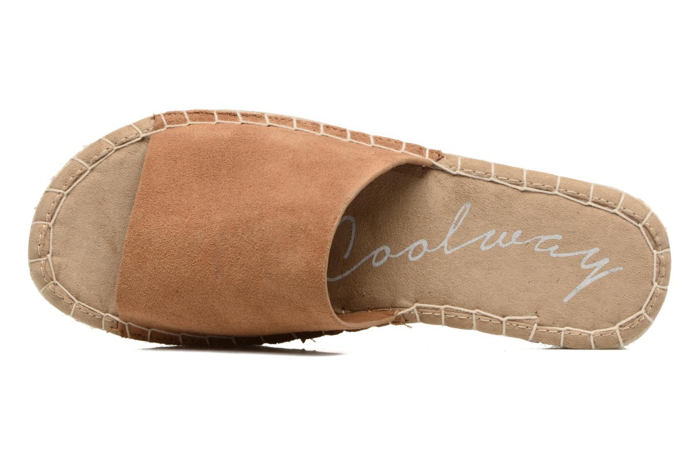 Scarpe di corda Coolway Bora Marrone immagine sinistra