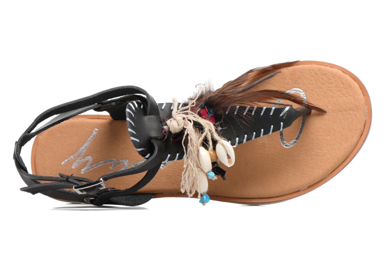 Sandales et nu-pieds Coolway Honololu Noir vue gauche