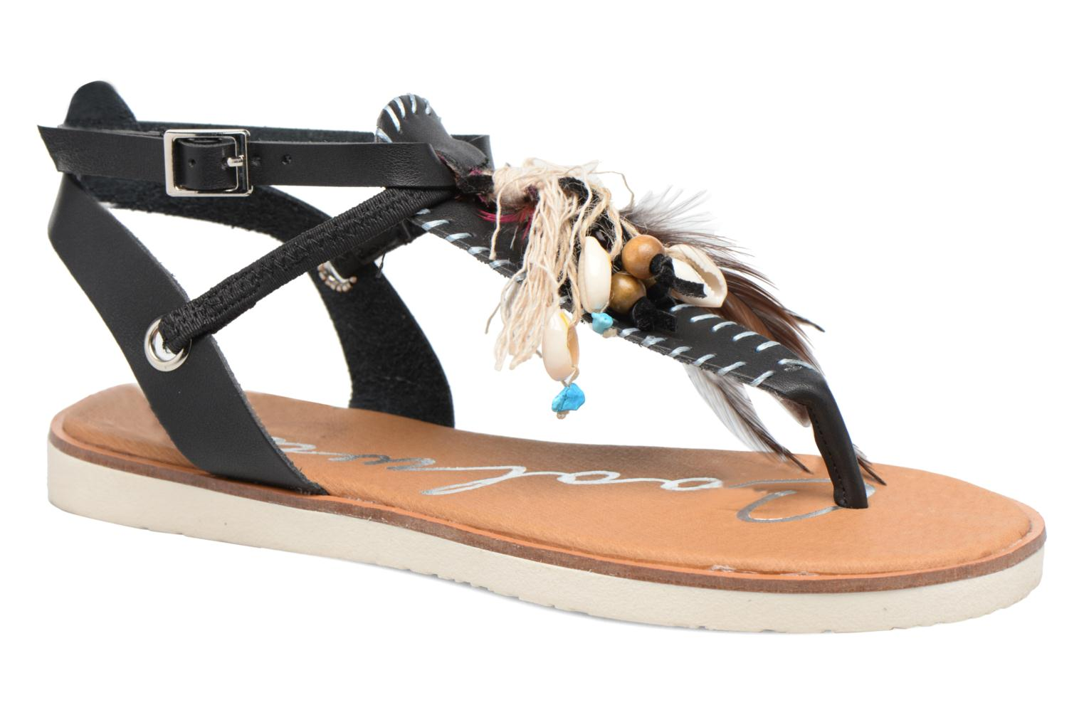 Sandales et nu-pieds Coolway Honololu Noir vue détail/paire