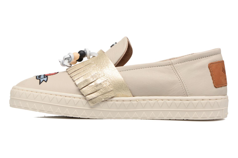 Sneakers Dolfie Noa Goud en brons voorkant