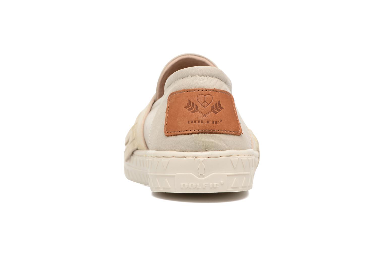 Sneakers Dolfie Noa Goud en brons rechts