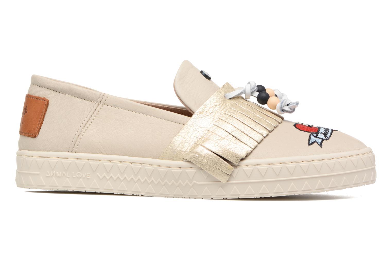 Sneakers Dolfie Noa Goud en brons achterkant