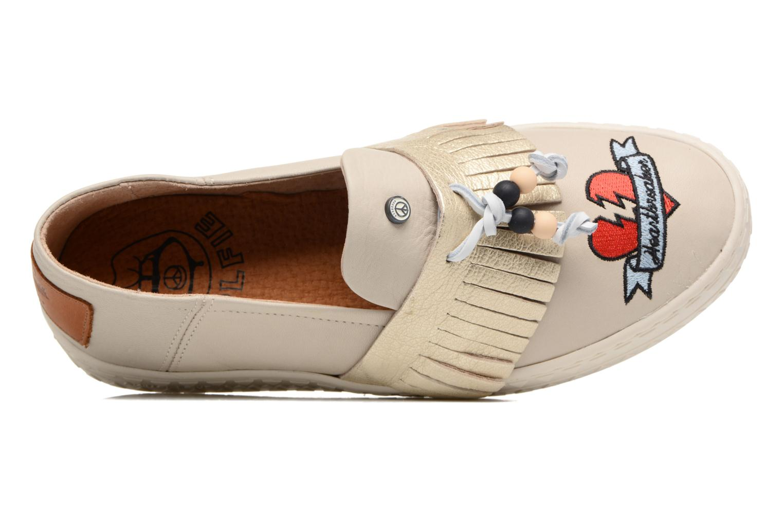 Sneakers Dolfie Noa Goud en brons links