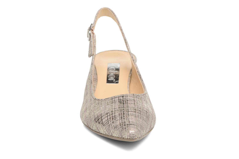 Zapatos de tacón Gabor Napa Plateado vista del modelo