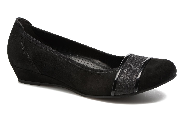 Zapatos de hombre y mujer de promoción por tiempo limitado Gabor Kreta 5 (Negro) - Bailarinas en Más cómodo