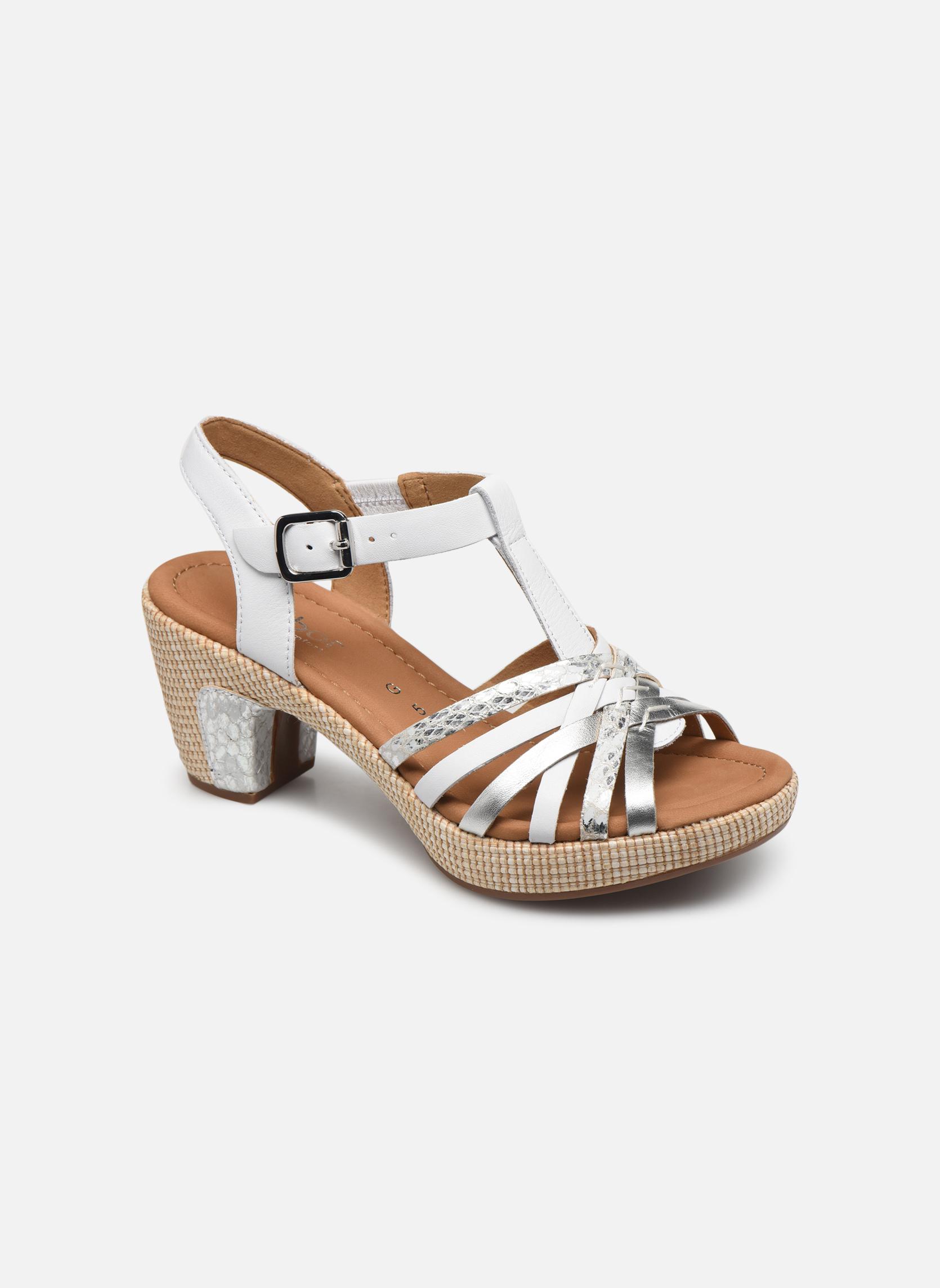 Grandes descuentos últimos zapatos Gabor St Tropez 3 (Blanco) - Sandalias Descuento