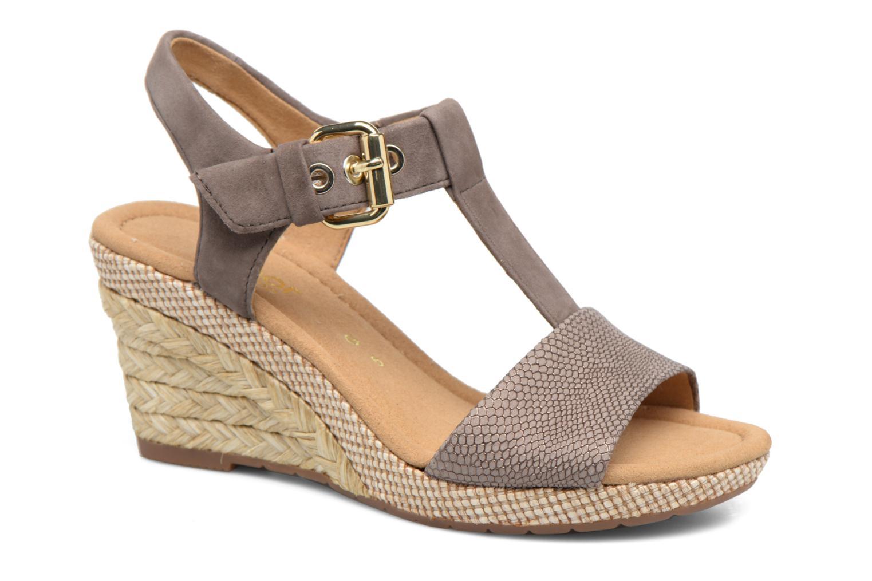 Sandales et nu-pieds Gabor Milano 4 Gris vue détail/paire