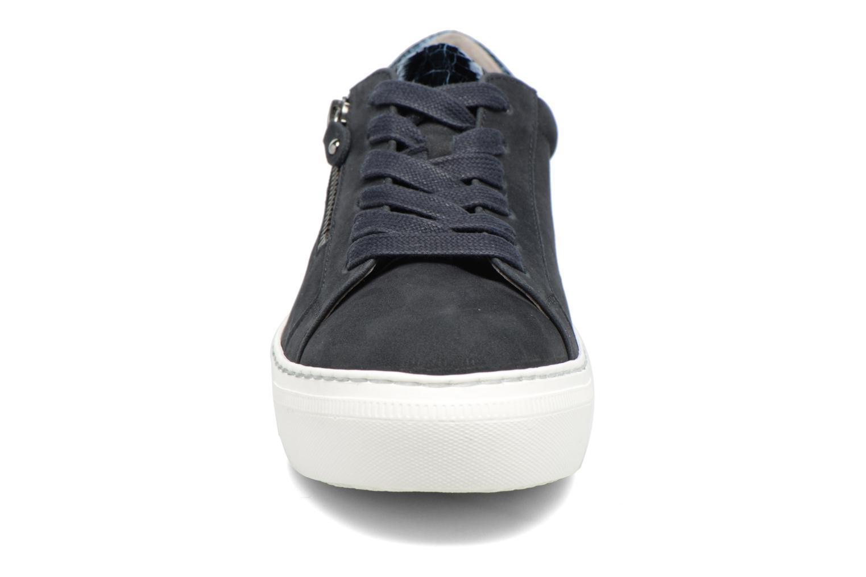 Baskets Gabor Foggia Bleu vue portées chaussures