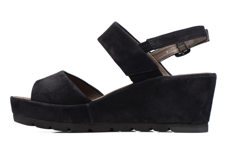 Sandales et nu-pieds Gabor Pistoia Bleu vue face