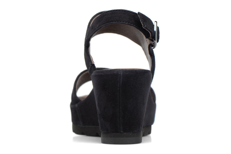 Sandales et nu-pieds Gabor Pistoia Bleu vue droite