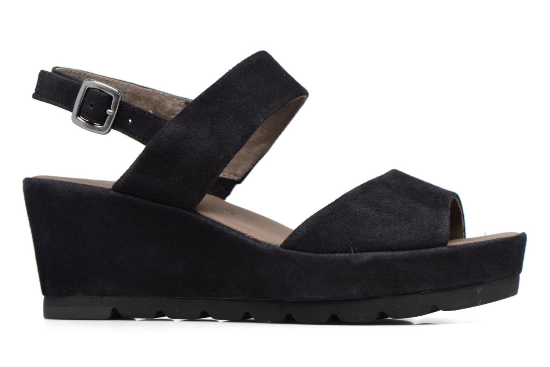 Sandales et nu-pieds Gabor Pistoia Bleu vue derrière