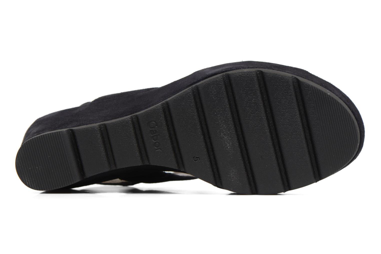 Sandales et nu-pieds Gabor Pistoia Bleu vue haut