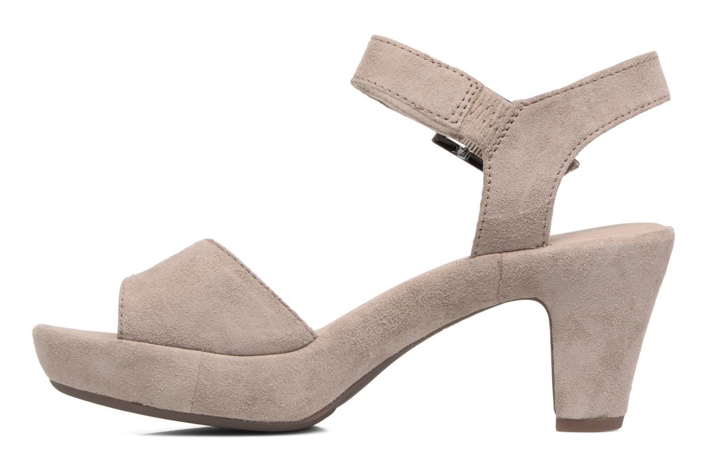 Sandales et nu-pieds Gabor Aprilia Beige vue face