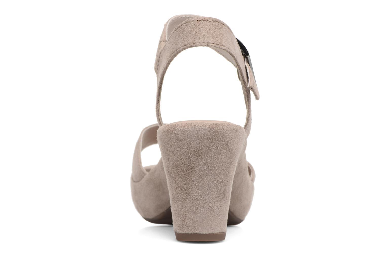 Sandales et nu-pieds Gabor Aprilia Beige vue droite