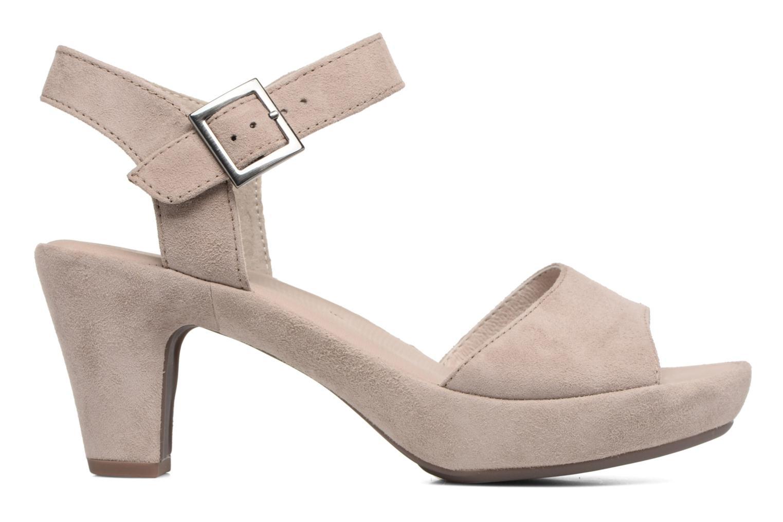 Sandales et nu-pieds Gabor Aprilia Beige vue derrière