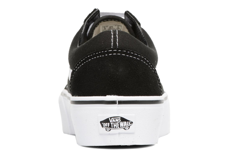 Old Skool Platform Black/white