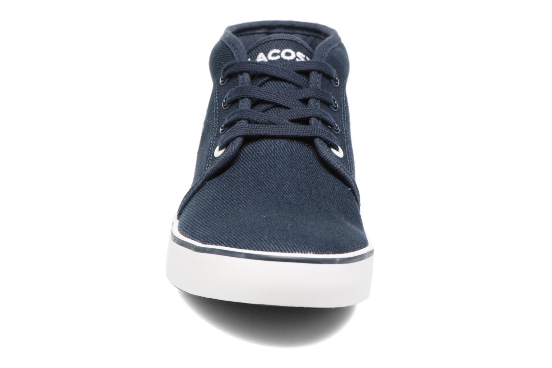 Baskets Lacoste Ampthill 117 1 Bleu vue portées chaussures