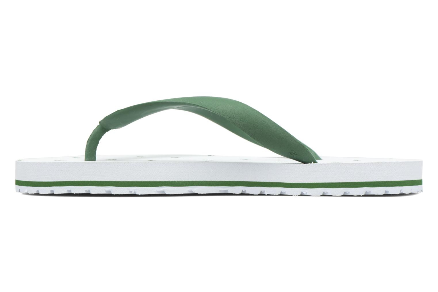 Tongs Lacoste Nosara 116 1 Blanc vue face