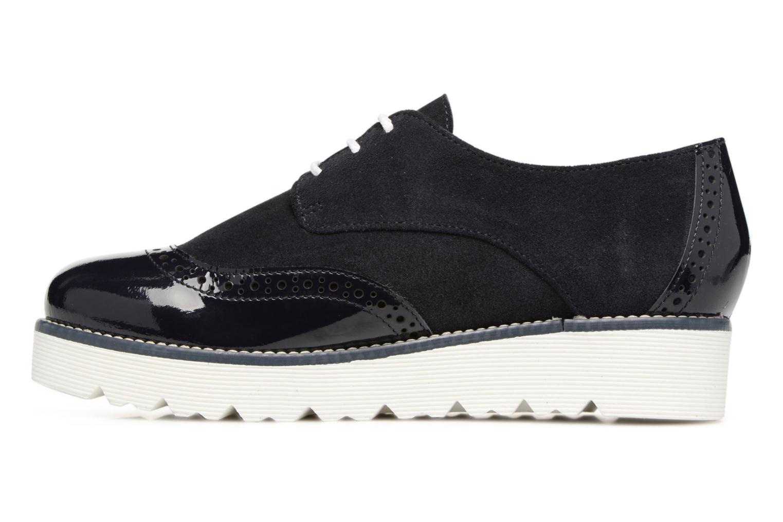 Chaussures à lacets Yep Marchele Noir vue face