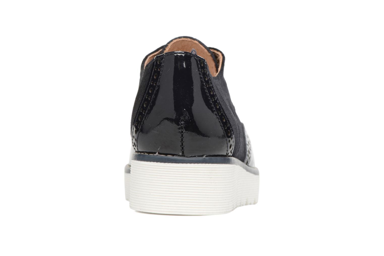 Chaussures à lacets Yep Marchele Noir vue droite