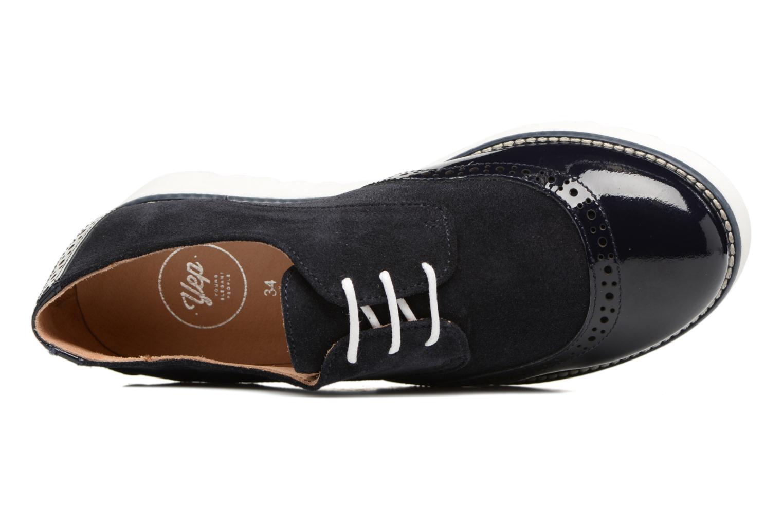Chaussures à lacets Yep Marchele Noir vue gauche