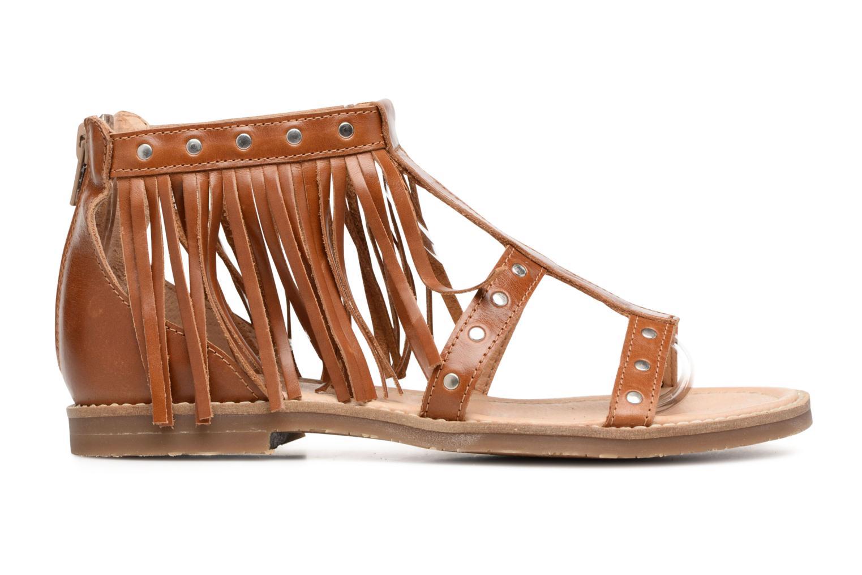 Sandales et nu-pieds Yep Maude (1370) Marron vue derrière
