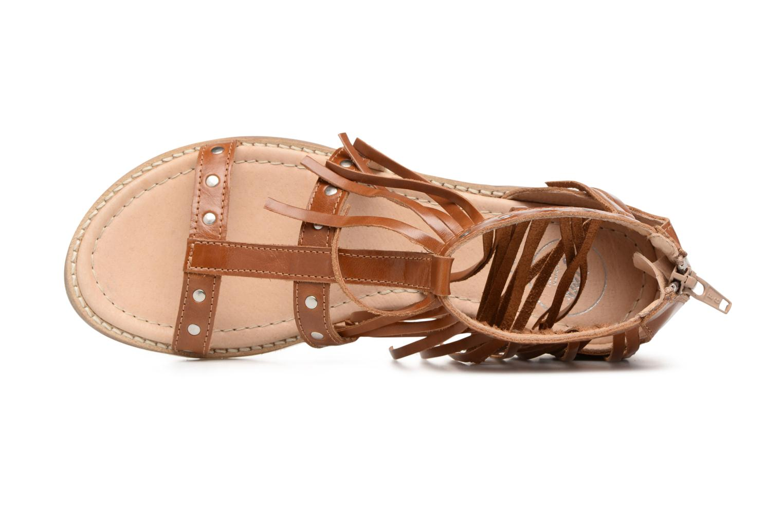 Sandales et nu-pieds Yep Maude (1370) Marron vue gauche