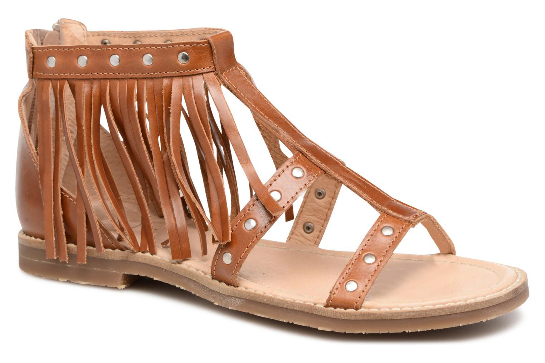 Sandales et nu-pieds Yep Maude (1370) Marron vue détail/paire