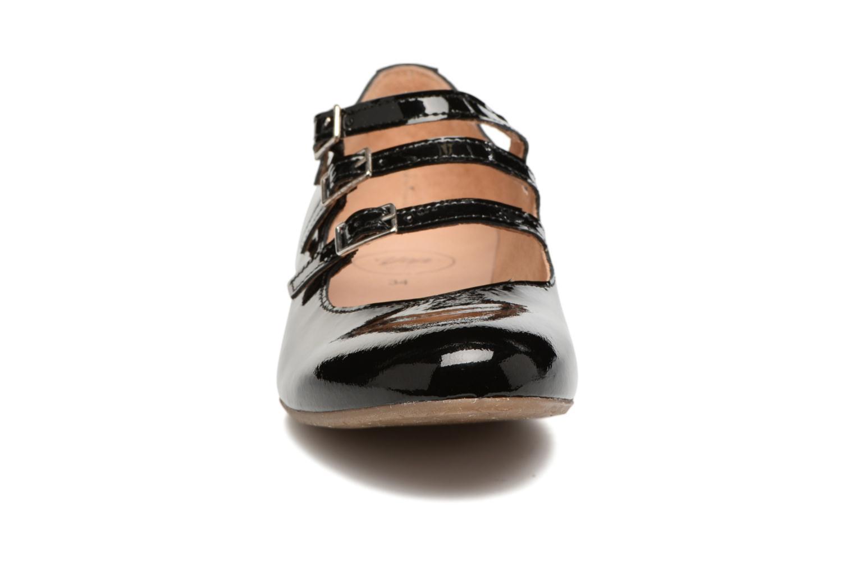 Ballerines Yep Léona Noir vue portées chaussures