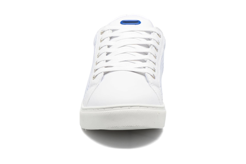 Baskets Kaporal Krisley Blanc vue portées chaussures