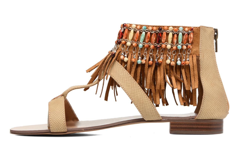 Sandales et nu-pieds Kaporal Loisi Marron vue face