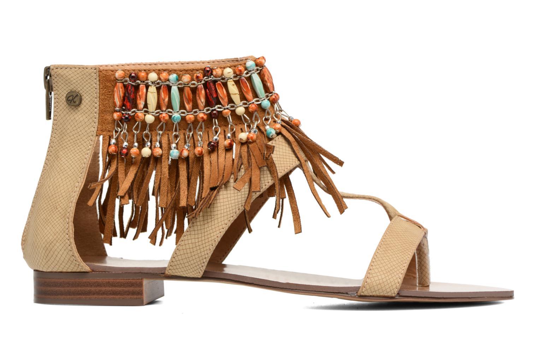 Sandales et nu-pieds Kaporal Loisi Marron vue derrière