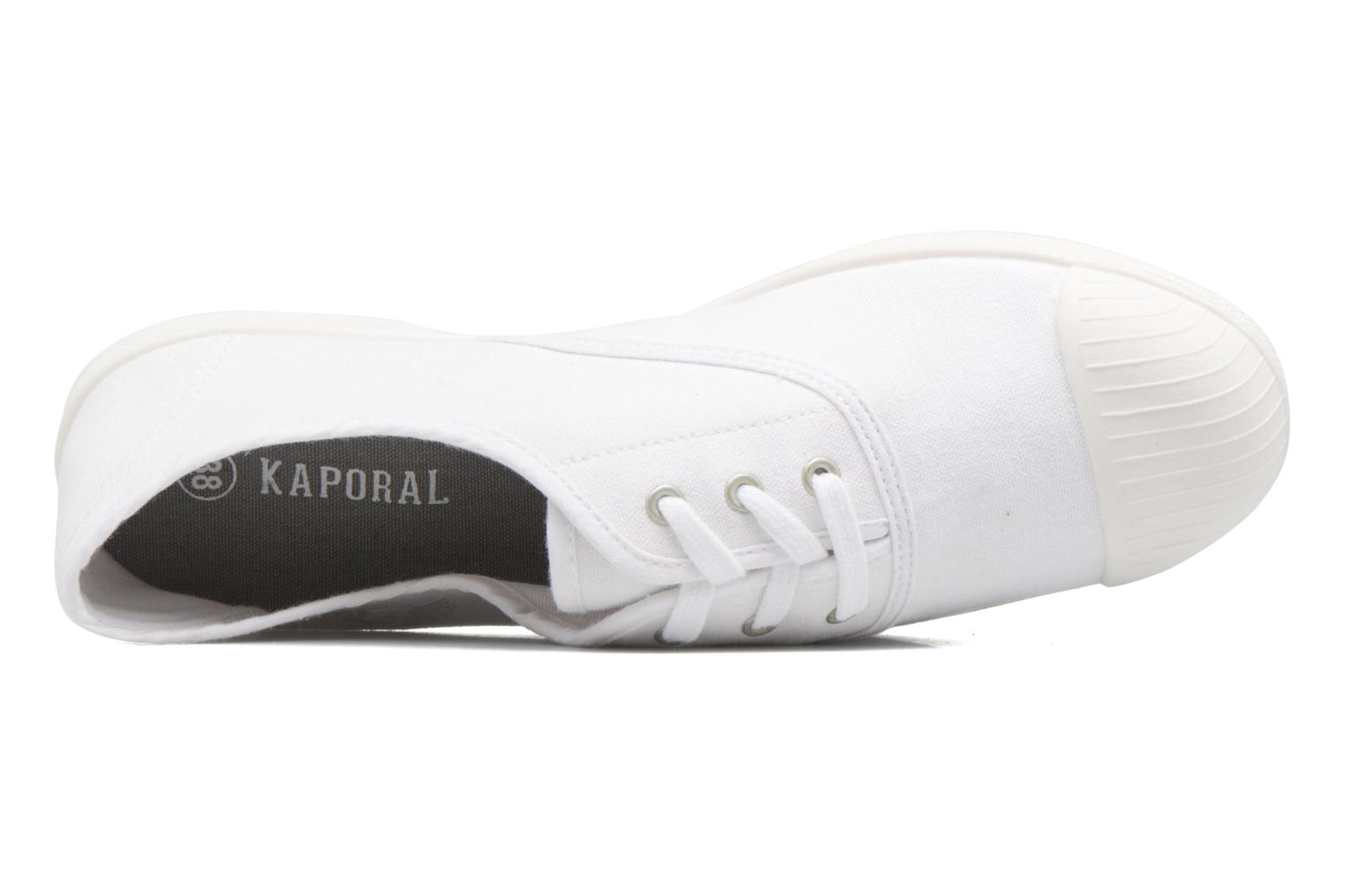 Trainers Kaporal Ulrika White view from the left
