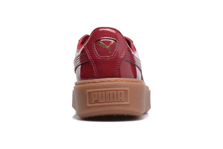 Wns Basket Platform Patent Red