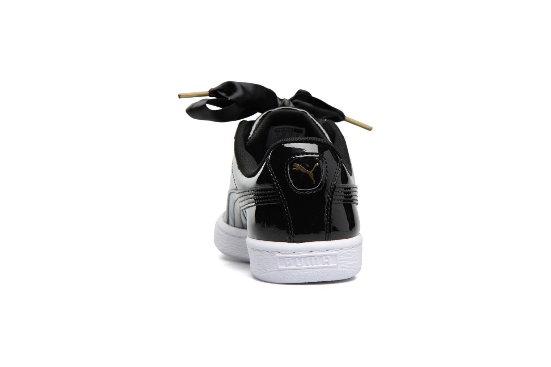 Baskets Puma Basket Heart Patent Wn's Noir vue droite
