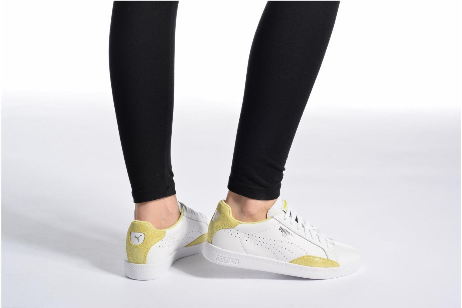 Match Lo Reset Wn's White-Soft Fluo Yellow