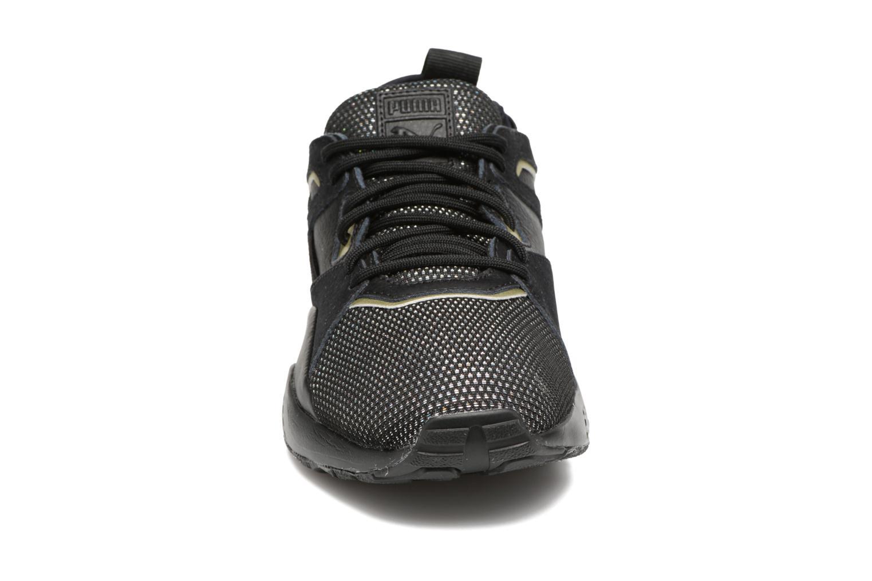 Baskets Puma BOG Sock Reset Metallic Wn's Noir vue portées chaussures