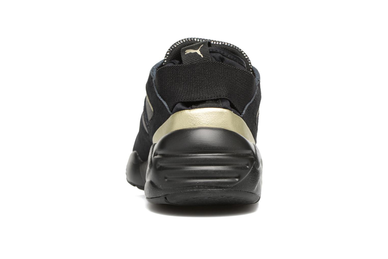 Baskets Puma BOG Sock Reset Metallic Wn's Noir vue droite