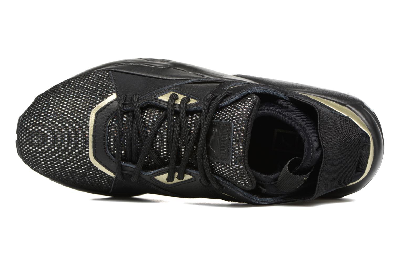 Baskets Puma BOG Sock Reset Metallic Wn's Noir vue gauche