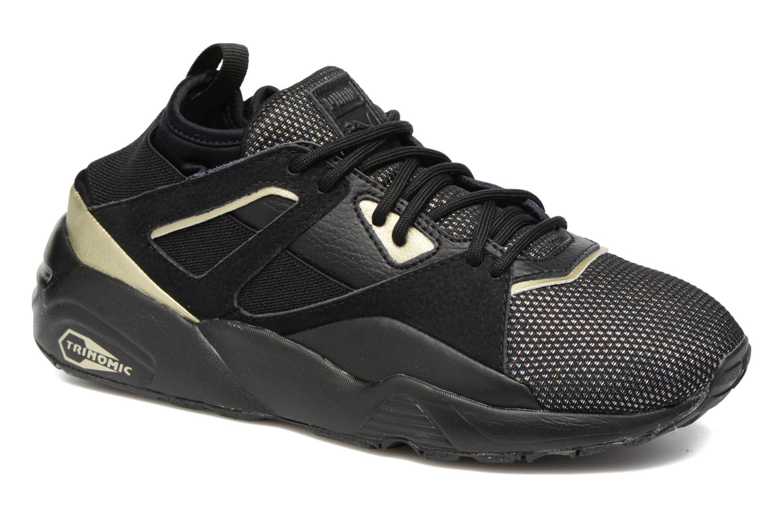 Baskets Puma BOG Sock Reset Metallic Wn's Noir vue détail/paire