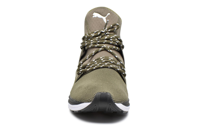 Baskets Puma BOG Limitless Vert vue portées chaussures