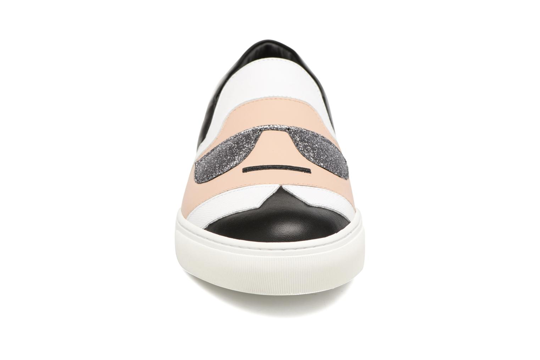 Baskets Karl Lagerfeld Kocktail Karl Slip On Noir vue portées chaussures