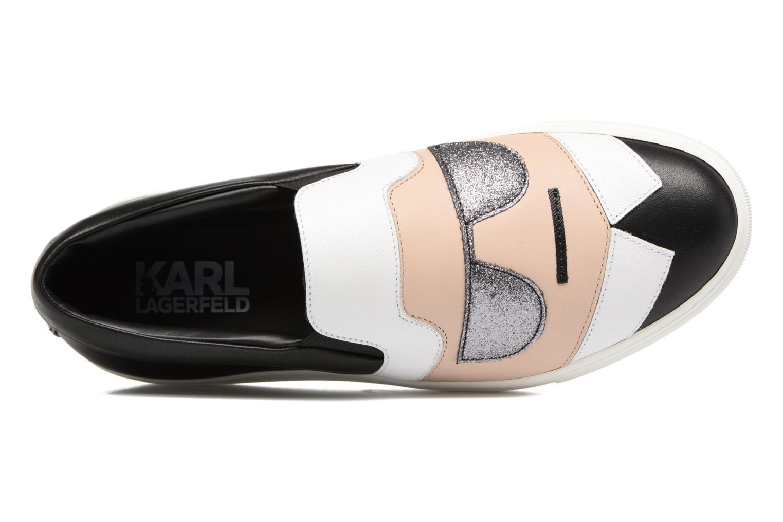 Baskets Karl Lagerfeld Kocktail Karl Slip On Noir vue gauche